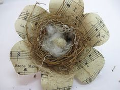 Treasures from the Heart: Flower Nest Tutorial