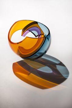 Available blown glass sculpture by John Kiley for sale. Blown glass sculpture by John Kiley. Blown Glass Art, Spirited Art, Year 2, Close To My Heart, Op Art, Sculptures, Art Gallery, Objects, Fine Art