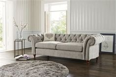 Buy Gosford Buttoned Sofas & Armchairs from the Next UK online shop