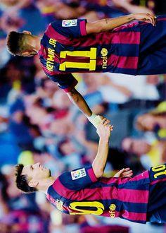 Messi - Neymar Jr.