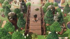 Animal Crossing 3ds, Yoshi, Forest Cottage, Ac New Leaf, Mystical Forest, Motifs Animal, Fantasy Island, Island Design, Jungle Animals