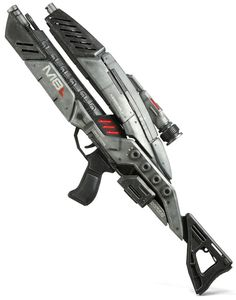 ThinkGeek :: Mass Effect 3: M-8 Avenger Assault Rifle Precision Prop Replica