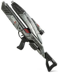 ThinkGeek :: Mass Effect 3: M-8 Avenger Assault Rifle Precision Prop Replica $649.99