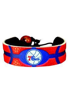 Philadelphia 76ers Gamewear Red and Blue Basketball Bracelet http://www.rallyhouse.com/shop/philadelphia-76ers-philadelphia-76ers-gamewear-red-and-blue-basketball-bracelet-45032 $9.99