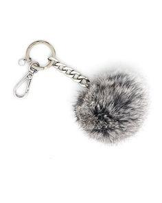 MICHAEL Michael Kors  Fur-Pom Keychain