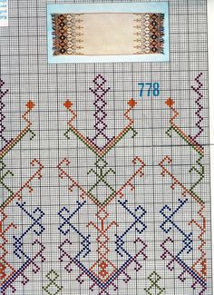 A collection of embroidery patterns for all ocassions Vintage Embroidery, Embroidery Stitches, Embroidery Patterns, Dmc Cross Stitch, Cross Stitch Patterns, Diy And Crafts, Bargello, Projects To Try, Traditional