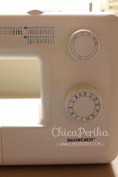 Cuando me contactaron para ver si quería probar la máquina de coser Silvercrest, de Lidl ( ¡que está el 7 de dic en oferta! ), rápidamente ...