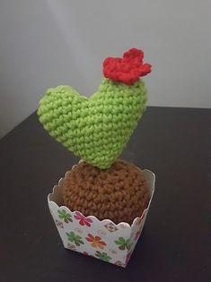 Crochet AF!: Heart Cactus Amigurumi
