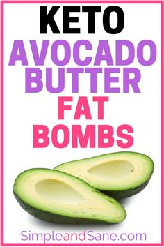 Learn how to make awesome Keto Fat Bombs with avocados - you need good fats on your ketogenic diet and these Avocado Butter recipes deliver. Keto Diet List, Starting Keto Diet, Keto Diet Plan, Paleo Diet, Ketogenic Diet For Beginners, Ketogenic Recipes, Diet Recipes, Snacks Recipes, Healthy Recipes