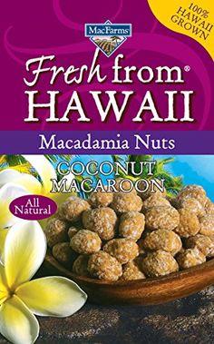 Coconut Macaroon Macadamia Nuts MacFarms 6 Oz. Bag ** Tried it! Love it! : Baking supplies