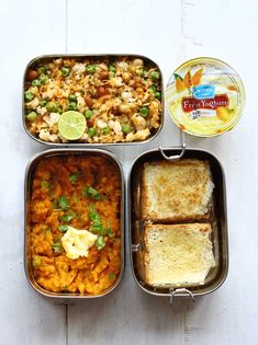 16 Best Packed Lunch Ideas for Work is part of Lunch recipies - Try our collection of simple everyday Indian Lunch Recipes and you are sure to find something delicious for every midday occasion Indian Lunch Box, Lunch Recipes Indian, Lunch Box Recipes, Baby Food Recipes, Vegetarian Recipes, Cooking Recipes, Lunch Ideas, Indian Snacks, What's Cooking