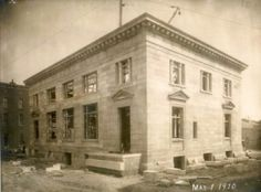 Construction of the Federal Building - 1910 - Danville, KY