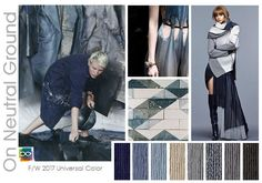 #DesignOptions FW 17/18 color on #WeConnectFashion, Women's trend: On Neutral…