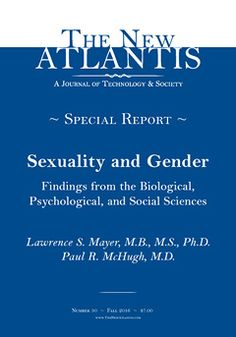 """See email """"Groundbreaking Research"""" - Transgenders, etc.- NOM - 08/22/16        An article from """"The New Atlantis."""""""