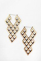 How Cool aret these earings? Hex By Lady Grey Serpent Earring  #UrbanOutfitters...