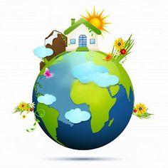 La nostra Terra è di forma sferica.                      La parte più esterna si chiama crosta terrestre.     Al di sotto della crosta...