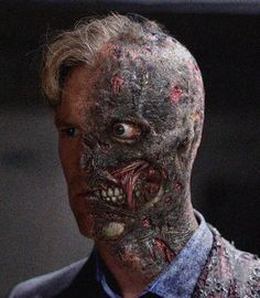Two-Faced? Aaron Eckhart