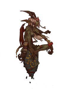 Fantastic Character Design by Arnold Tsang