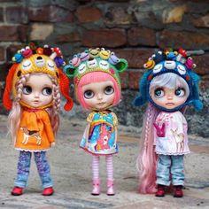 ..this is my doll world.. #miemadollhouse #miema #blythedoll #blythe #dolls #toy #toystagram #girls #japanesegirl #customdoll #custom #ooakdolls #ooak #takara #licca #barbie #groove #azone #bjd #handmade #vegan