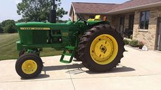 New Tires. Front and Rear weights. Old John Deere Tractors, Jd Tractors, Vintage Tractors, John Deere 4320, Mercedes G Wagon, John Deere Equipment, Tractor Implements, Farm Paintings, Classic Tractor