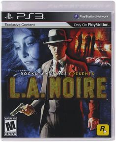 L.A. Noire PS3 Physical Game Disc US