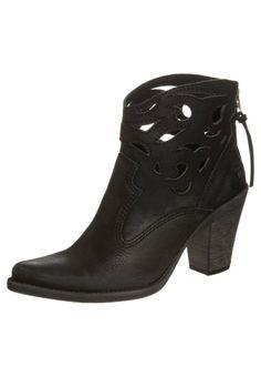Felmini - STONES - Cowboy/Biker boots - black