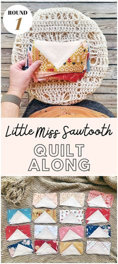 Little Miss Sawtooth Quilt - Sampler Quilt - Southern Charm Quilts - Melanie Traylor - Beginner Quilt - Fat Quarter Quilt Little Miss, Charm Quilt, Quilt Labels, Flying Geese, Crossed Fingers, You Are Amazing, Scrappy Quilts, Southern Charm, S Pic