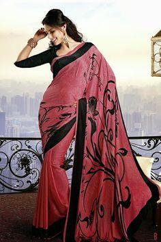 Designer Sarees Images: Chiffon Saree Fashions