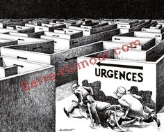 Emergency - Urgences. Claude Serre. See: http://www.pinterest.com/pin/287386019945710322/
