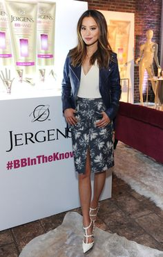 868e7a73b86bc4 Jamie Chung At The Jergens  BBInTheKnow Event
