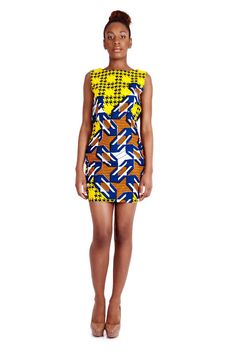 African Prints in Fashion: Summer Prints by INYÜ, Paris
