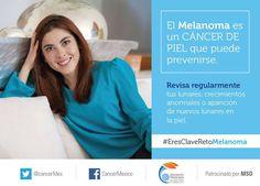 #actrizmexicana #actacuadro KARELY REGEV #CAMPAÑA #luchacontraelcancer #retomelanoma