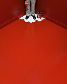 John Baldessari, Monday: Red Six Colorful Inside Jobs, 1971