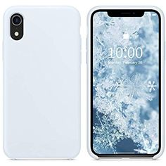 """SURPHY Silicone Case for iPhone Xs Max, Slim Liquid Silicone Soft Rubber Protective Phone Case Cover (with Soft Microfiber Lining) Compatible with iPhone Xs Max Sky Blue Cell Phones """" Accessories Iphone 7 Plus, Iphone 8, Apple Iphone, Coque Iphone, Iphone Phone Cases, Liquid Iphone 6 Cases, Glitter Iphone 6 Case, Silicone Phone Case, Accessoires Iphone"""