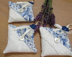 Lavender Crafts, Lavender Bags, Lavender Sachets, Crochet Pillow, Crochet Yarn, Crochet Flowers, Crochet Hat For Beginners, Beginner Crochet Projects, Crochet Sock Pattern Free
