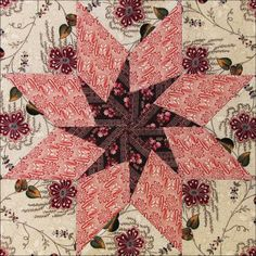 Civil War Quilts: Threads of Memory 5: Madison Star for Delia Webster