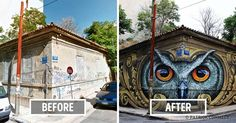 Please click to follow link. This art is just amazing!  Patrick Commecy is a talented painter and street artist from France.