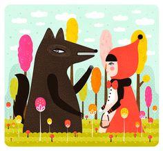 Little Red Riding Hood  // Muxxi
