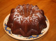 Kentucky Butter Cake – This was originally a Pillsbury Best Cook off winner in the early 60's.  I've been making it since about '62 and every time is a winner.  The only change I have made in 50 years is to use about 3 tablespoons of dark rum in the glaze instead of the rum flavoring. This cake is absolutely wonderful!