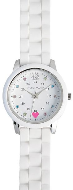 Nurse Mates Sparkle Dot Watch