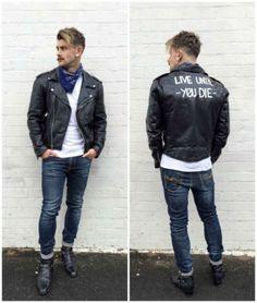 O Rock Como Inspiração Para o Look Diário - Canal Masculino