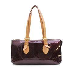 Louis Vuitton  Rose Wood Avenu Monogram Vernis Handle bags Patent Leather M93510
