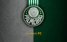 Download wallpapers Palmeiras FC, 4K, Brazilian football club, Brazilian Serie A, leather texture, emblem, Palmeiras logo, Sao Paulo, Brazil, football