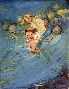 The Water Babies {Mabel Lucie Atwell}