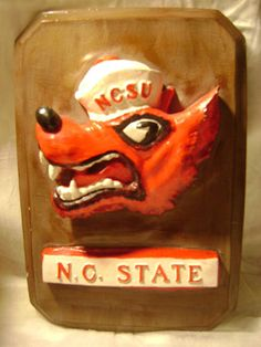 Mouse over image to zoom    Have one to sell? Sell it yourself  **-N.C. STATE-NCSU(CHALK WALL PLAQUE)-**
