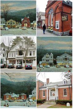 Visit to Stockbridge, Massachusetts, and the Norman Rockwell Museum