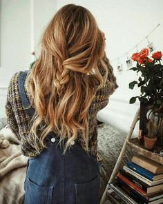 pretty hairstyles ~ Hair Beauty , hairstyles for medium length hair Everyday Hairstyles, Pretty Hairstyles, Braided Hairstyles, Updo Hairstyle, Wedding Hairstyles, Braided Updo, Hairstyle Ideas, Casual Hairstyles, Wedding Updo