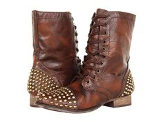 My new brown studded boots!!! Love them!!