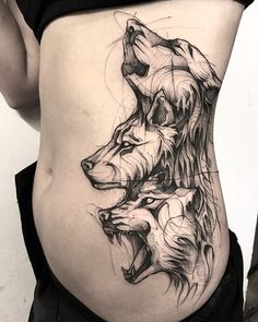 half sleeve tattoo designs and meanings - sleeve tattoos Half Sleeve Tattoos Designs, Tattoo Designs And Meanings, Sleeve Tattoos For Women, Wolf Tattoos For Women, Wolf Tattoo Back, Small Wolf Tattoo, Tattoo Wolf, Husky Tattoo, Wolf Sleeve