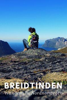 Eine Wanderung im Norden Norwegens auf der Insel Senja. Breidtinden - eine anspruchsvolle und einsame Tour.